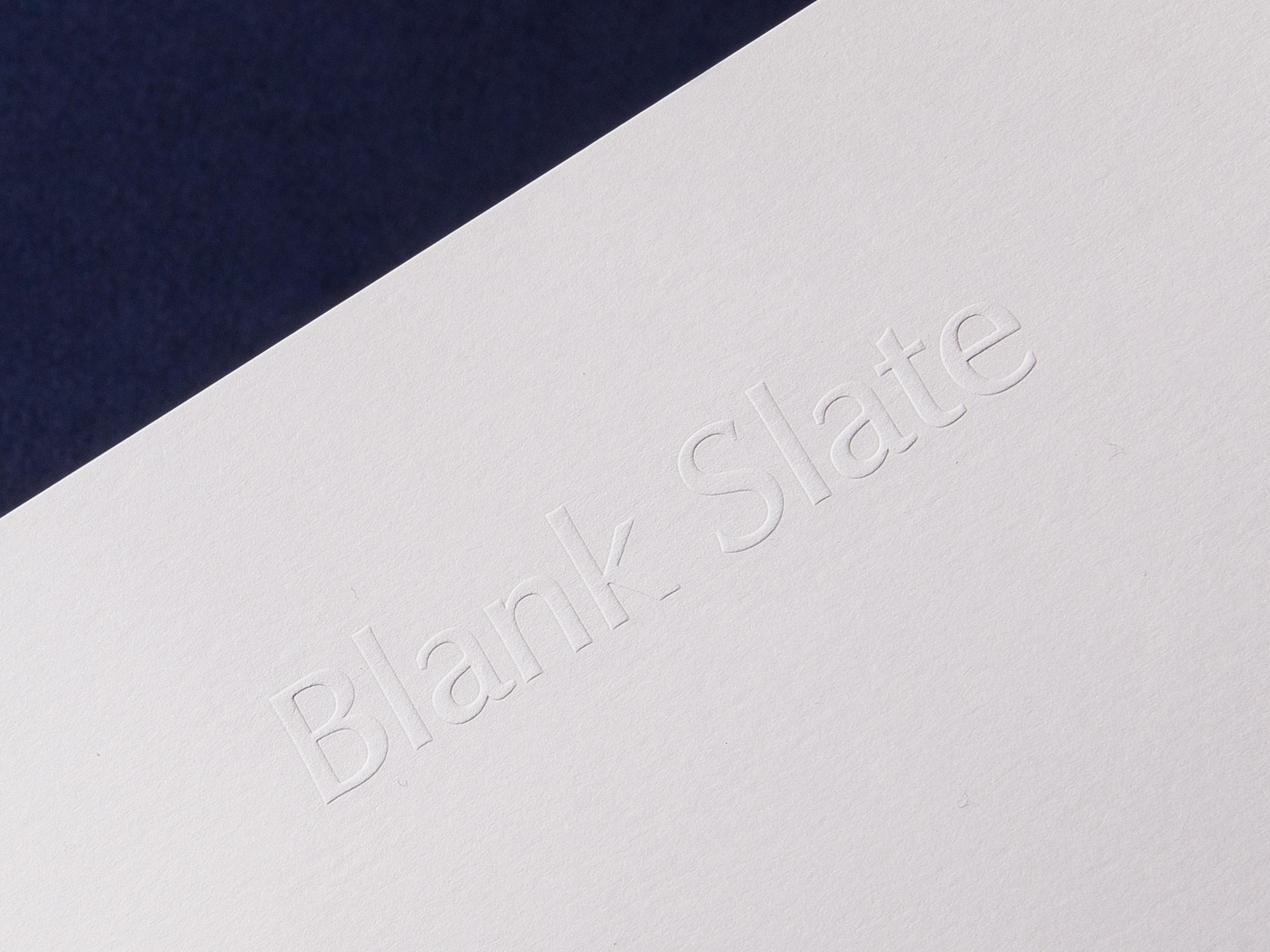 Blank Slate |Magazine